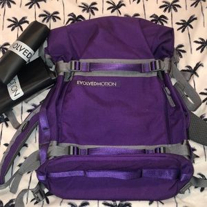 Purple Empack with 2 reservoirs.